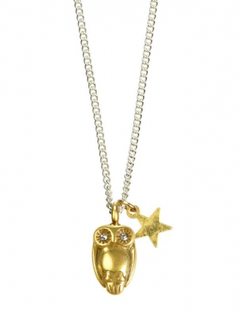 Owl Necklace BI