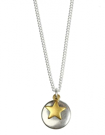 Coin/Star necklace