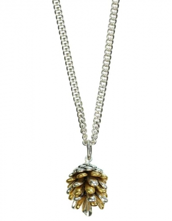 Fir Cone Necklace