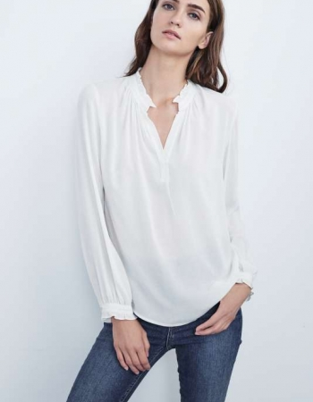 Pila Blouse Buttermilk