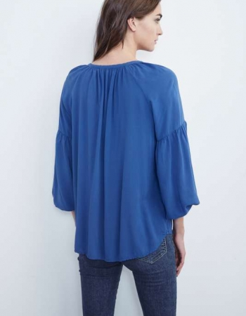 Zion Blouse Blue