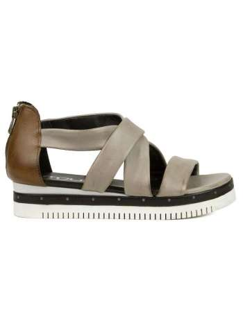 Grey/Tan Sandal