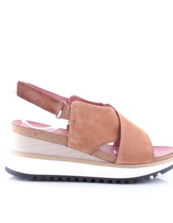 Muse Tan Wedge