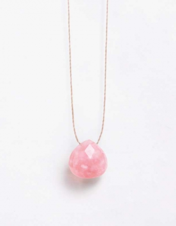Wanderlust Pink Opal Necklace