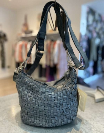 Square woven bowling bag