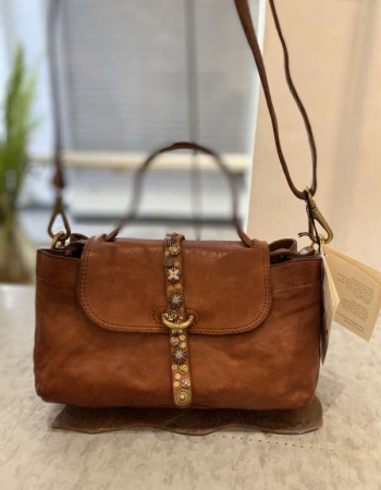 Small Tan Leather handbag