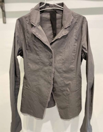 Fitted Grey Jacket