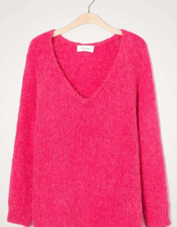 Chunky Pink Knit