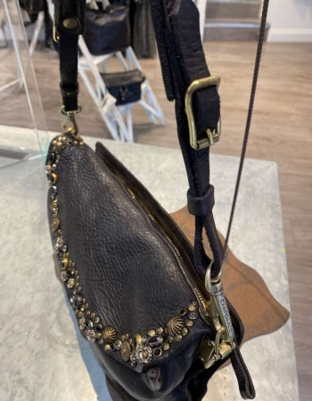CO1659  Black Shoulder Bag
