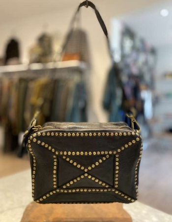 CO0108 Black Square bag