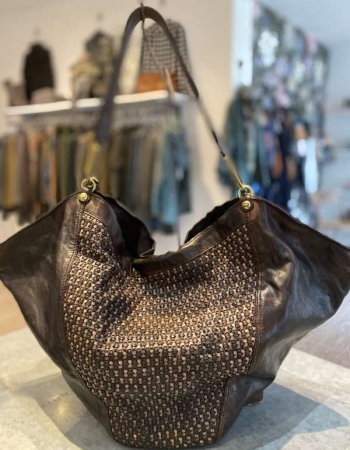 CO2259 Large Shoulder Bag Grey