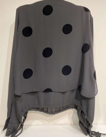 Black Dot Blouse