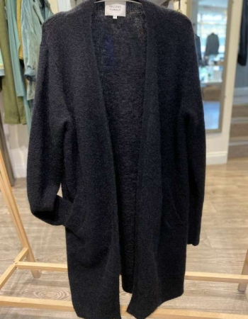 Black Cape Cardigan