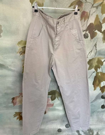 Dove Grey Knotch Trouser