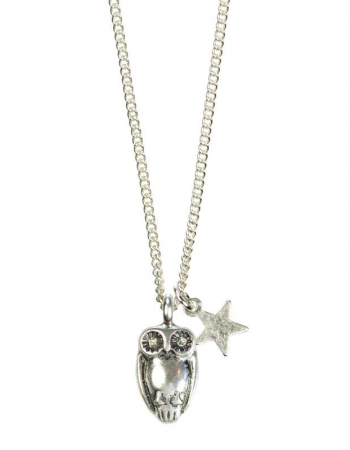 Owl Necklace S