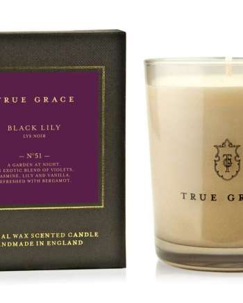 Black Lily Candle