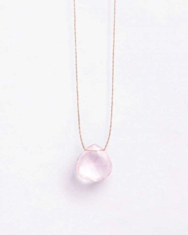 Wanderlust Rose Quartz Necklace